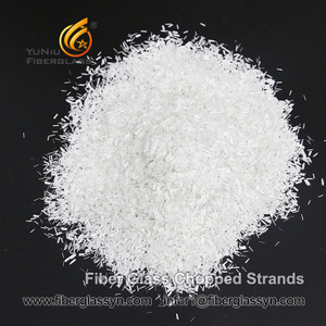 High Quality E-glass Fiber Chopped Strands for PBT In Brazil