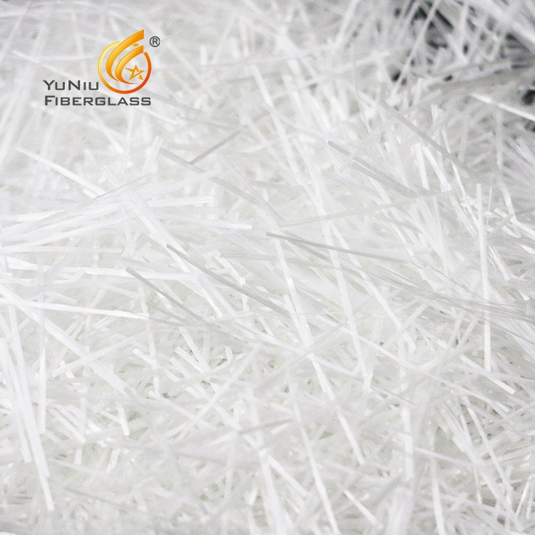 Most Popular Alkali Resistant Glass Fiber Chopped Strands for Reinforced Concrete