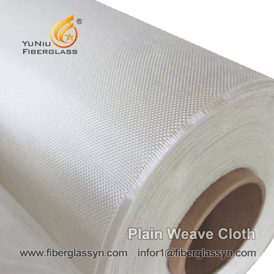 High Strength E-glass Fiber Plain Weave Cloth In US  - YuNiu Fiberglass