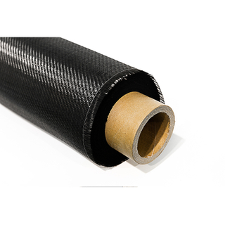 Good quality durable black carbon fiber fabric