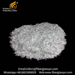 China Supplier Alkali Resistant Glass Fiber Chopped Strand with 3 mm and 4.5 mm For Pp Wholesales