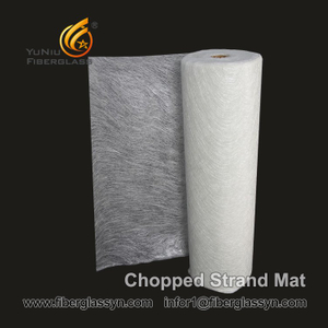 100% E-glass fiberglass mat for yacht manufacturing