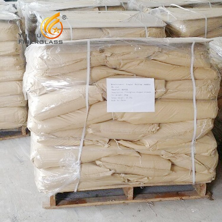 E-glass fiber chopped strands for cement mortar