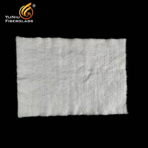 High quality Thermal Insulation Fireproof Silica Fiberglass Needle Mat