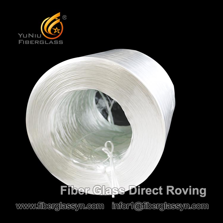Most reputation E-glass Fiberglass direct roving 2400 tex