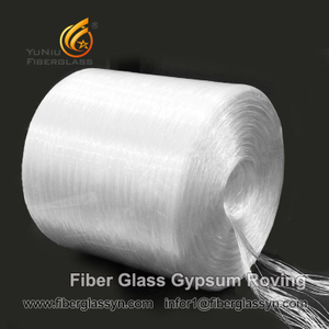 High Quality European supplier E-Glass Fiber Gypsum Roving