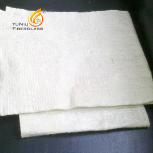 5mm Thickness E Glass Fiber Thermal Insulation -Needle Punch Mattress
