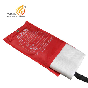 Factory Supplier Fire Blanket Made By Fiberglass Cloth
