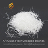 Alkali resistant glass fiber chopped strands for Premix